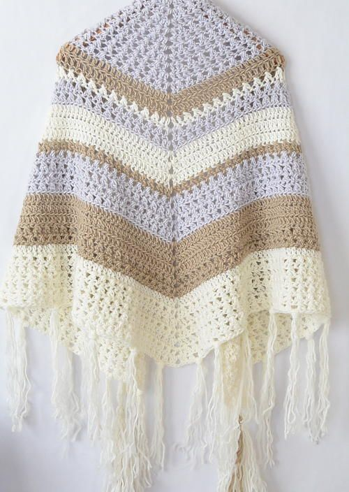 Dreamer Crochet Shawl | crochet shawls, ponchos, and wraps by ...