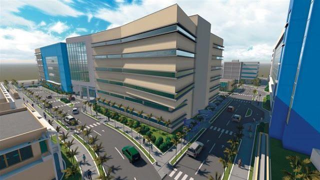 Avanzan trabajos del complejo hospitalario Luis Eduardo Aybar #santodomingo #dominicanrepublic #caribbean #project #architecture #construction #health #hospital #infraestructure