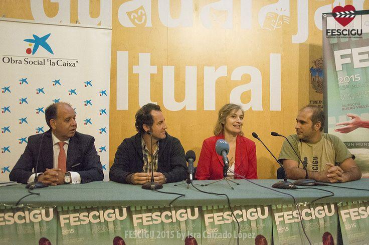 Gonzalo Domingo, Tomás Cimadevilla, Assumpta Serna y Luis Moreno.