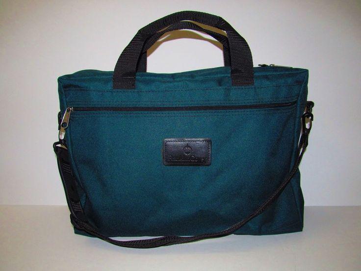Franklin Covey Shoulder Bag Green Hvy Nylon Carry On Travel USA Exclusive  #FranklinCovey #CarryOnShoulderBag