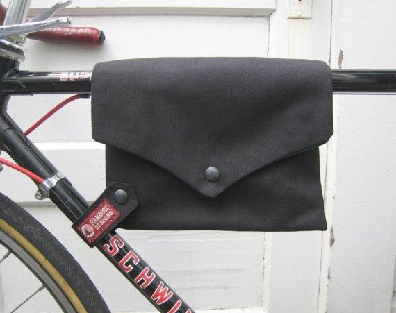 bike bag ... TopTube VeloPocket - black cordura $40