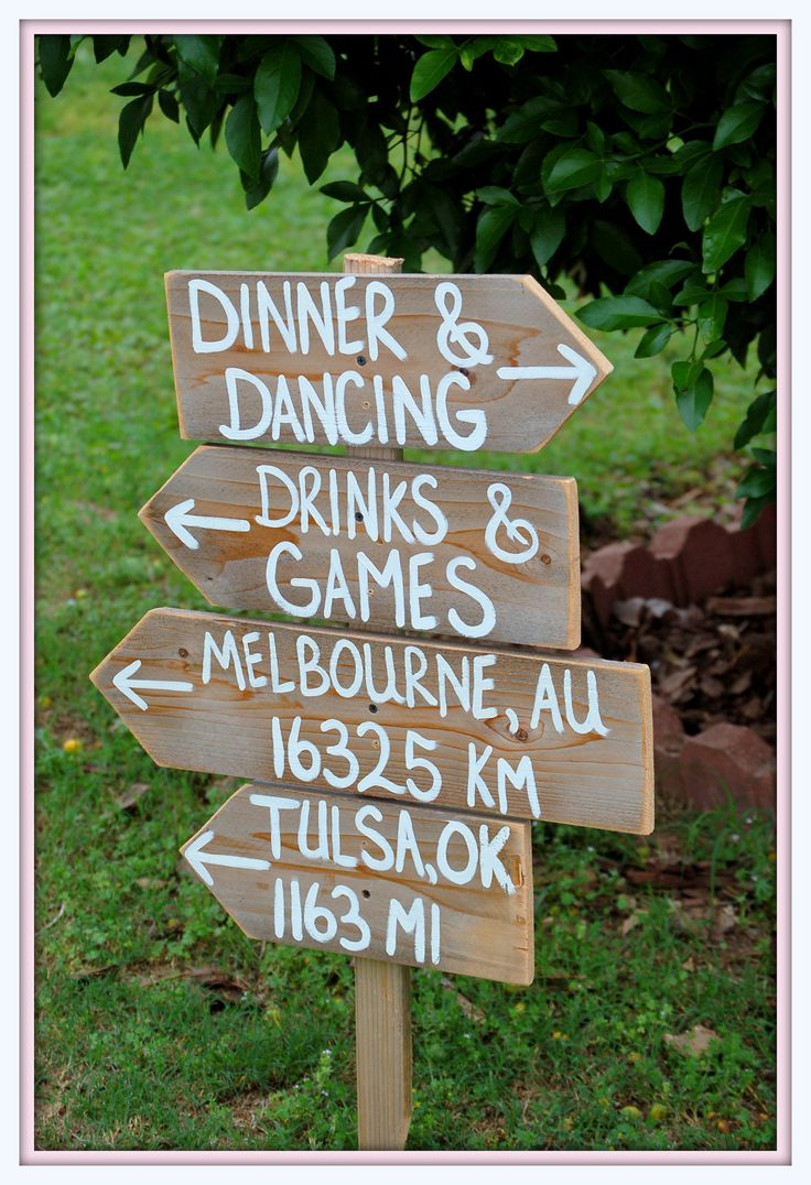 Rustic Wedding Signs Reclaimed Wood Directional Arrow Wooden Sign Re