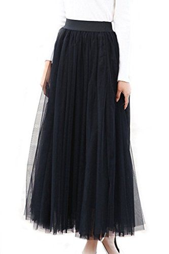 Women's A-line Mesh Tulle Skirts with Stretch High Waist ... https://www.amazon.com/dp/B06XPVF2TB/ref=cm_sw_r_pi_dp_x_W05fzbCXCHW3B