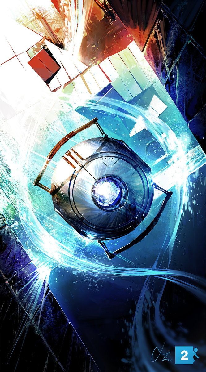 Wheatley - by Tim Shaw #Portal #gaming