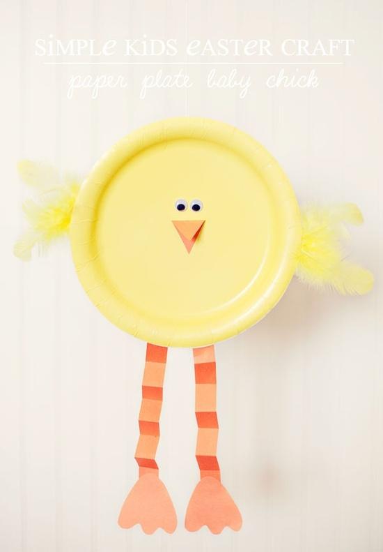 DIY Easter Chick