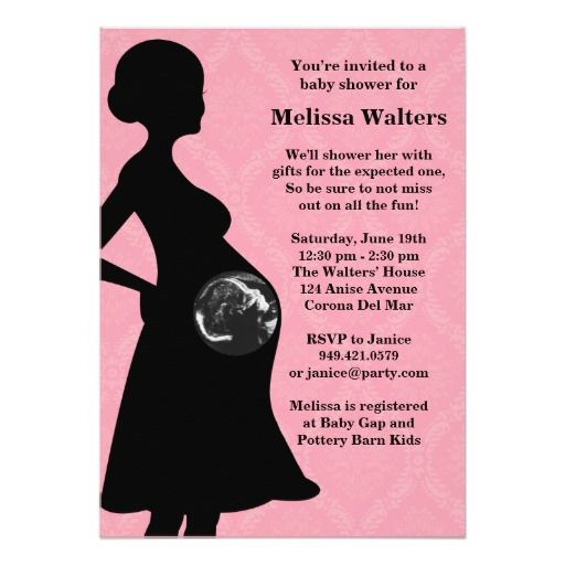 359 best ultrasound baby shower invitations images on pinterest, Baby shower invitations