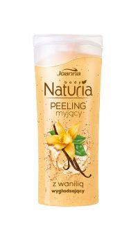 Peeling myjący do ciała z wanilią Naturia body. Skóra jest odświeżona i oczyszczona, gładka i miła w dotyku oraz przyjemnie pachnąca.
