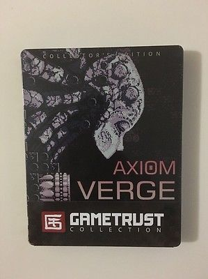 Brand New Factory Sealed Axiom Verge Collector's Edition