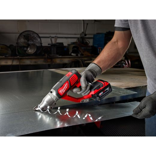 18V Cordless 18 Gauge Double Cut Shear Kit | Milwaukee Tool
