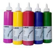 Farby akrylowe Lukas Terzia 500ml - Sklep plastyczny - szał dla plastyków