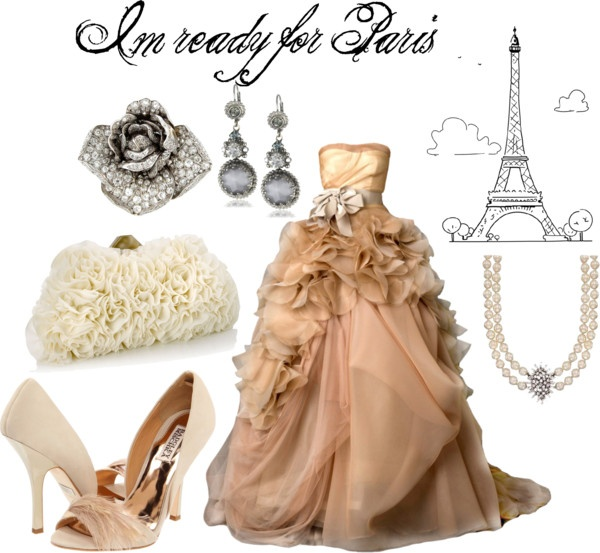 For Kelsey...  Im ready for Paris, created by missmoreno on Polyvore