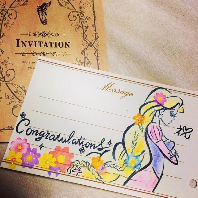 結婚式 メッセージカード イラスト 手書き