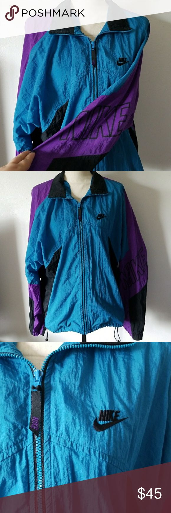 Vintage nike windbreaker In great used condition Nike Jackets & Coats
