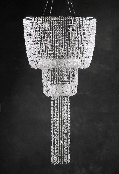 151 best images about prom great gatsby ceiling for Plastic chandeliers for parties