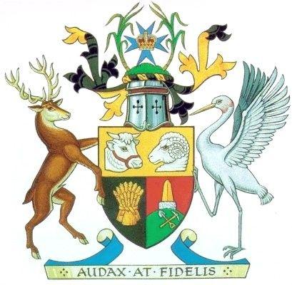 Coat of Arms of #Queensland, #Australia   #heraldry
