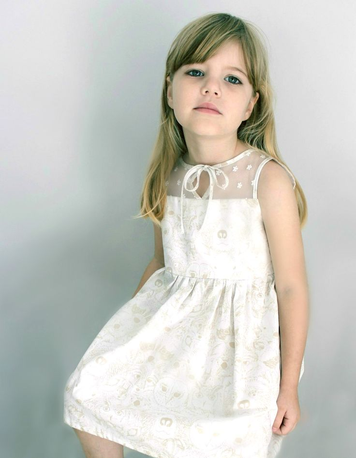 Little Bow Peep Dress - Sizes 1 to 9 {custom made} at Ted and Toot
