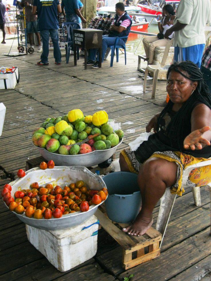 Street Vendor, Buenaventura Colombia