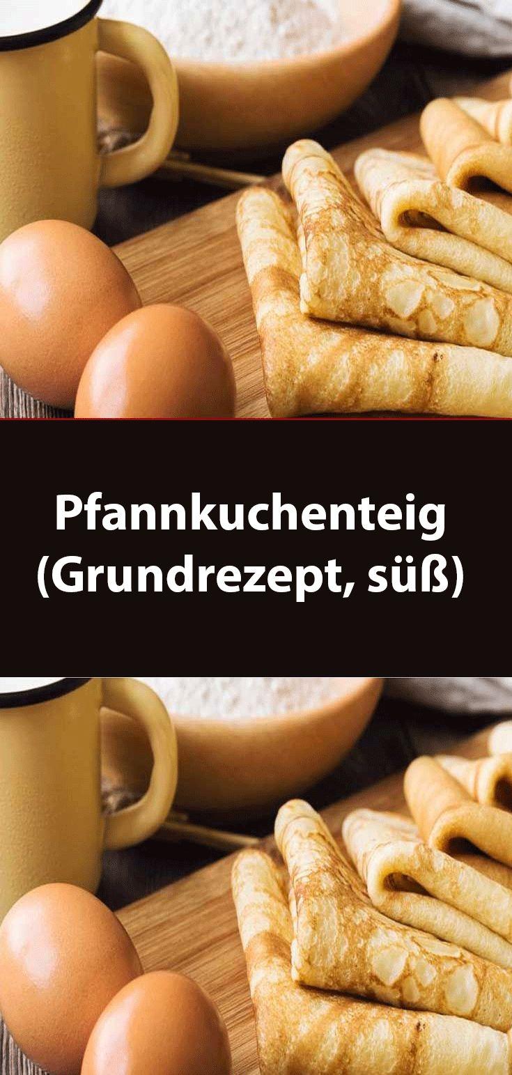 Pfannkuchenteig (Grundrezept süß)