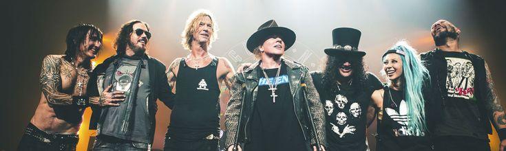 Guns N' Roses 2016 Not in This Lifetime Tour