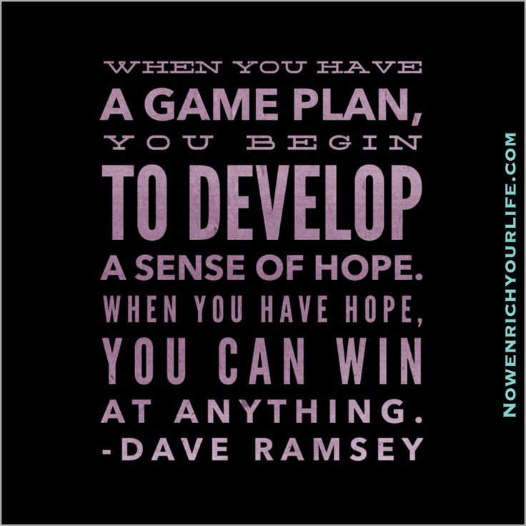 Do You Have A Plan?  If Not, Make One!   http://encp.nowenrichyourlife.com   #MakeAPlan #HaveHope #Win