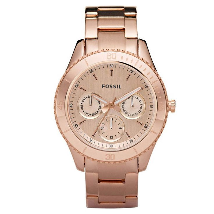 Fossil Ladies' Stella Rose Watch In Rose Gold - Beyond the Rack