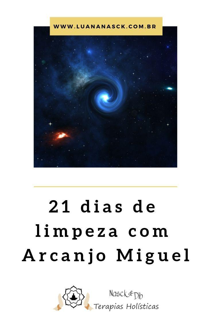 Limpeza Espiritual 21 Dias Oracao Do Arcanjo Miguel Com Imagens