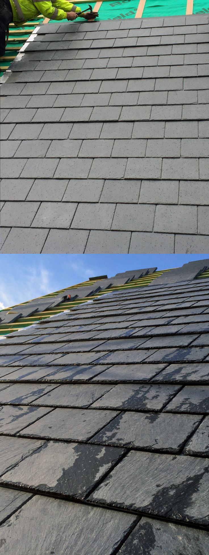 Save energy and keep the style of your roof intact? Find out THERMOSLATE, the invisible thermal solar system! | #solar #thermal #energy