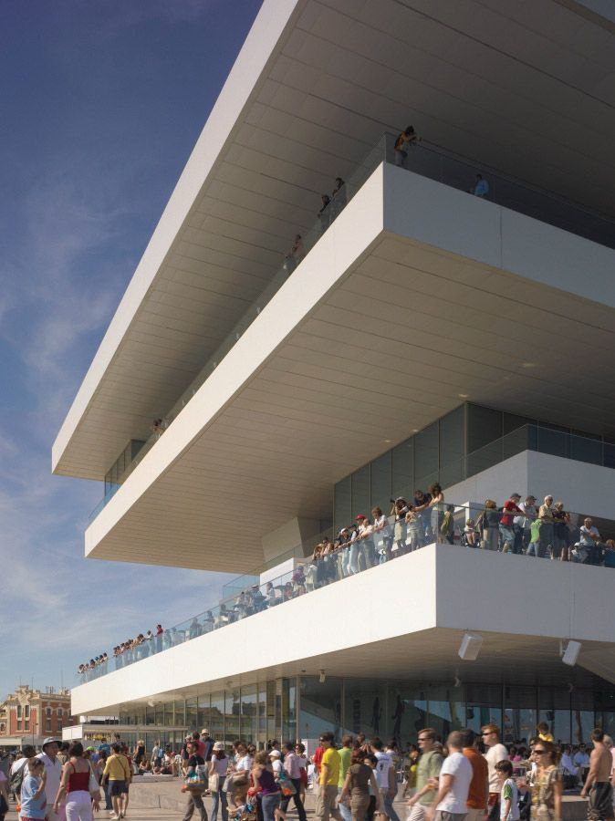 Americas Cup Building - David Chipperfield