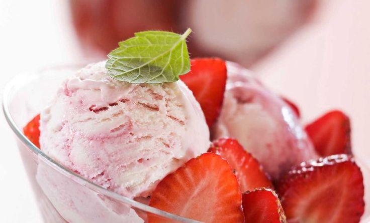 """Обалденное клубничное мороженое """""""