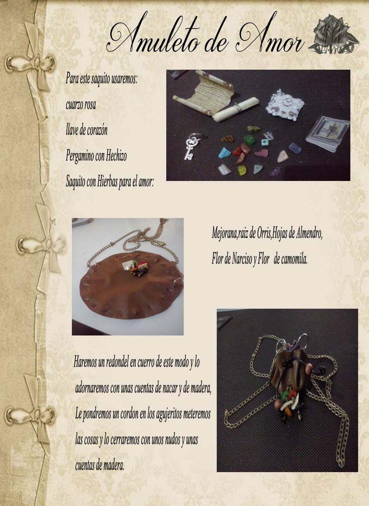 Trastos de Bruja: Amuleto de Amor