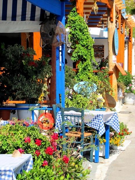 Restaurant in Finiki, Karpathos...