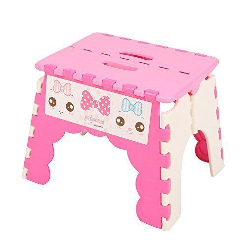 Aojia Childrenu0027s Slip Resistant Folding Step Stool Dimensions W u201d u201d u201c  sc 1 st  Pinterest & 1890 best Step Stools images on Pinterest | Step stools Kids ... islam-shia.org