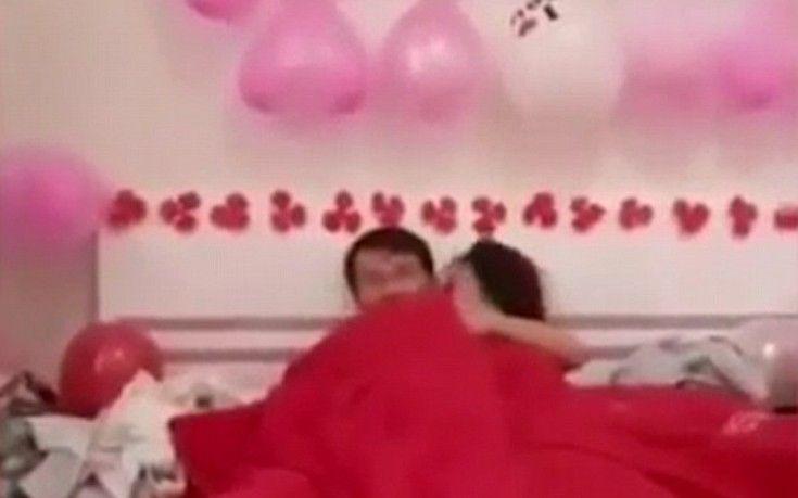 Καλεσμένοι σε γάμο στην Κίνα εξανάγκασαν τους νεόνυμφους να κάνουν σεξ μπροστά τους