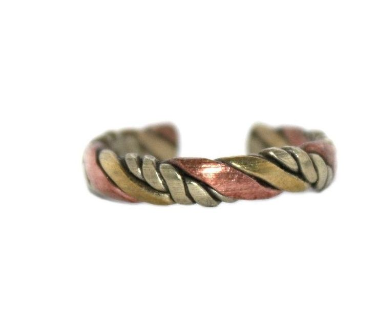 Adjustable Ring Yoga Ring Healing Ring Copper Ring Brass Ring Tribal Ring Gypsy Ring