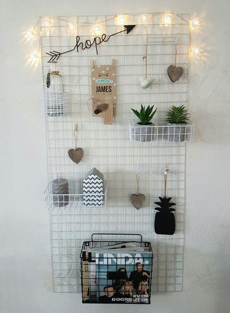 die besten 25 gitter pinnwand ideen auf pinterest coole. Black Bedroom Furniture Sets. Home Design Ideas