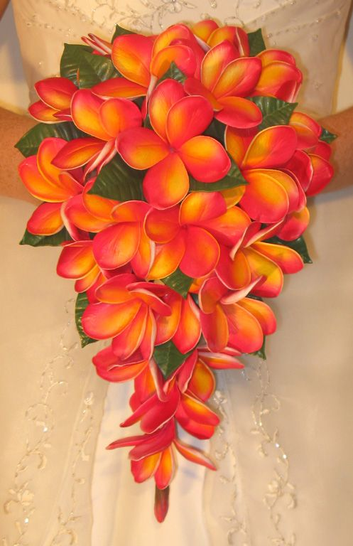 Bridal Bouquet Tropical Flowers : Images about wedding bouquets flowers on