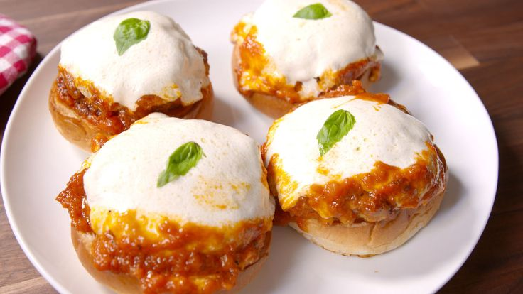 Chicken Parm Burgers Will Change The Way You Crave Chicken Parmesan