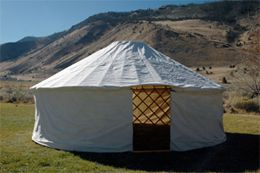 14 ft yurt $2600  Yurts Ready to Go Our completed Yurts have everything included and are ready to go. Similar to the Full Yurt Kit except there is no finishing or assembly work to be done. All you have to do is follow the included set up instructions and you can have a yurt up in as little as …