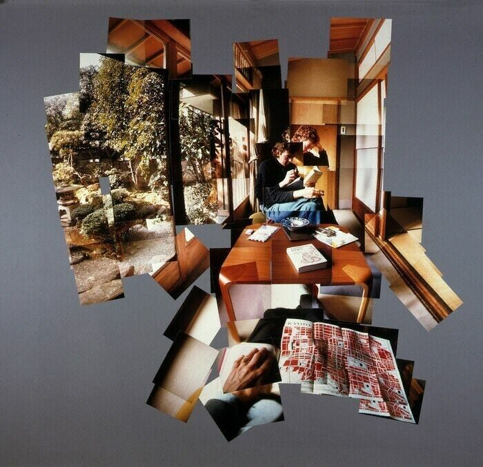 """joiners"" - Creative Polaroid Collages by David Hockney"