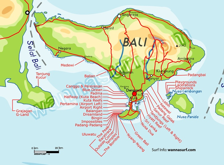 701 best maps images on pinterest cartography cards and urban bali surfing map gumiabroncs Gallery