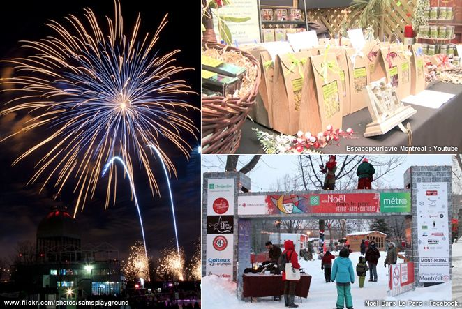 Top December 2014 Holiday Events In Montreal   TELUS' Fire On Ice Show, Botanical Garden's Christmas Fair.