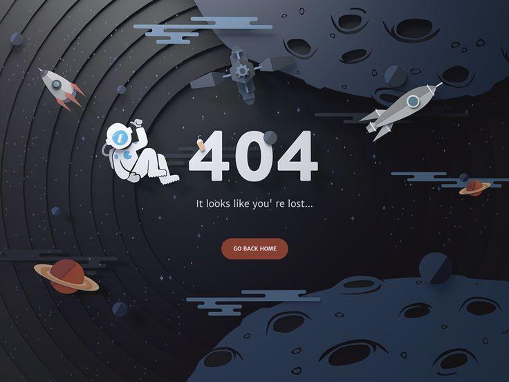 太空 daily ui challange #008 daily ui