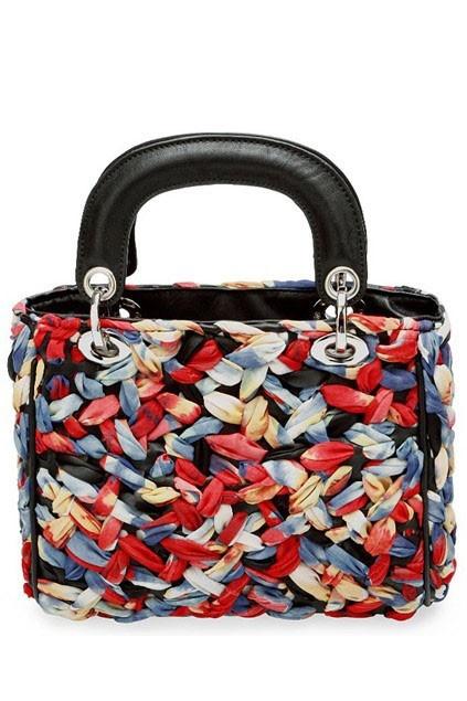 Multi Color Chiffon Interlaced Handbag - $95.00 @OASAP