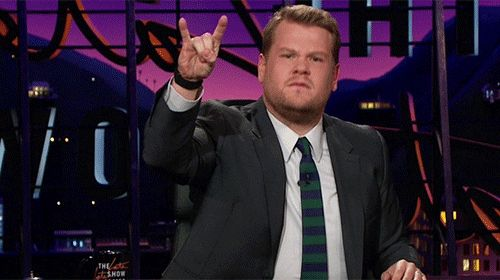 New trending GIF on Giphy. metal james corden rock and roll late late show rock on devil horns. Follow Me CooliPhone6Case on Twitter Facebook Google Instagram LinkedIn Blogger Tumblr Youtube