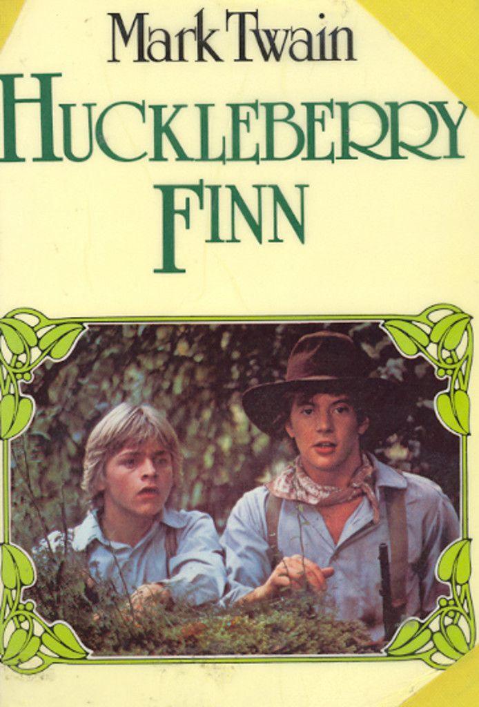 """Huckleberry Finn"" av Mark Twain"