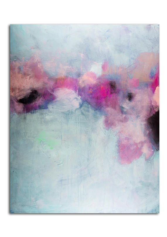 abstrakte Malerei-Acryl-Malerei abstrakte Kunst Leinwand Kunst ...