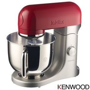 Kenwood kMix Stand Mixer - Raspberry Red better than a kitchen aid been proven.