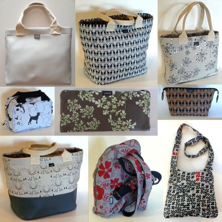 Veldt Bags & Accessory Range in Hemp Canvas