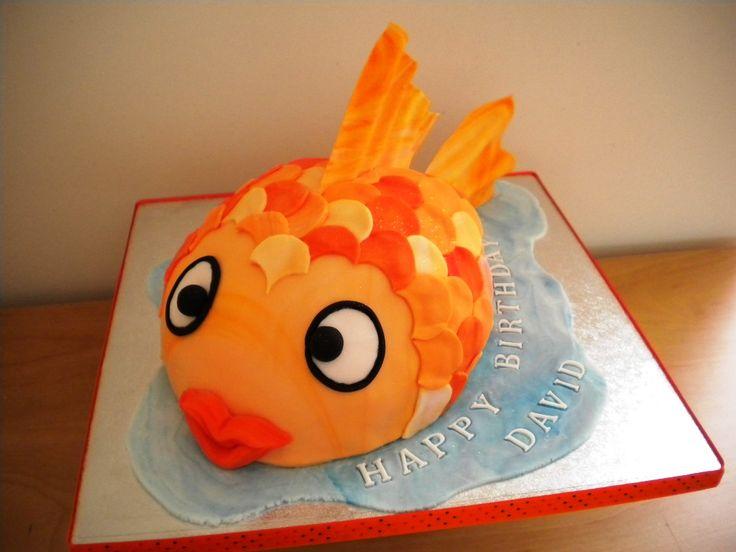 Cute Goldfish Cake
