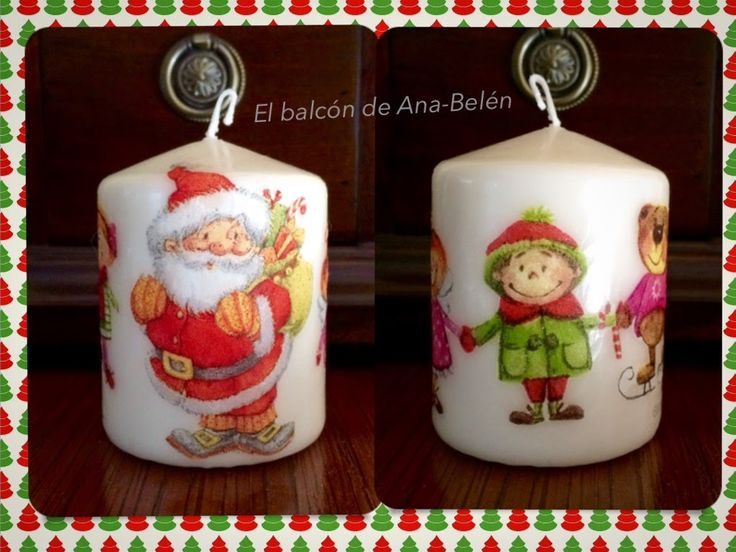 17 mejores ideas sobre velas decoradas en pinterest decorar velas velas rom nticas y - Velas decoradas para navidad ...